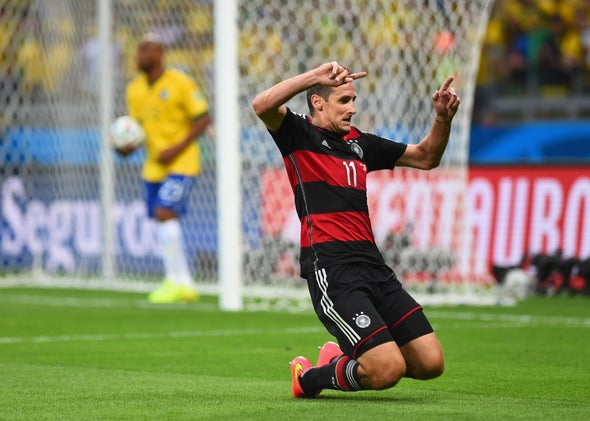 Germany-Brazil, 2014 World Cup: The Germans scored three