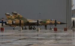 Two Libyan Air Force Mirage F1 fighter planes. Click image to expand.