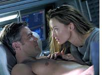 Is she or isn't she? A haunted George Clooney in Solaris