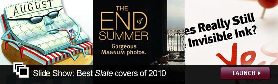 Slide Show: Best Slate covers of 2010