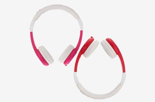 Onanoff Buddyphones Explore Foldable Volume Limiting Kids Headphones.