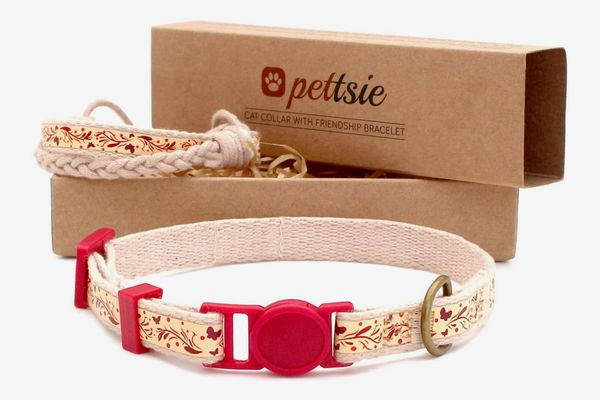 Pettsie Cat Collar With Friendship Bracelet