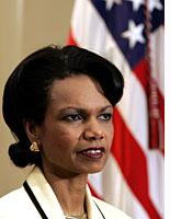 Will Condi remain Bush's work wife?