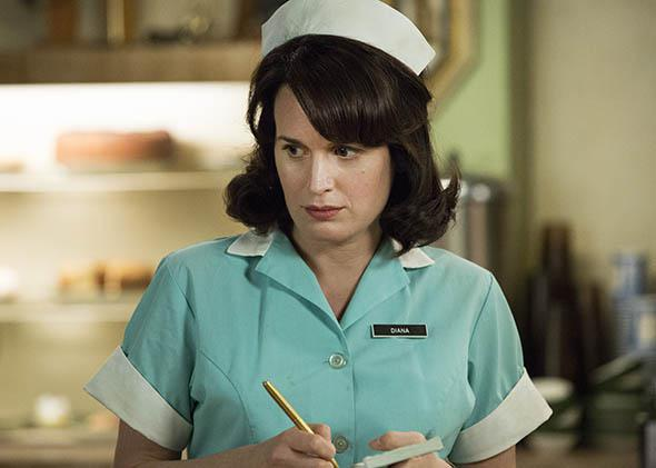 Elizabeth Reaser as Diana in Mad Men.