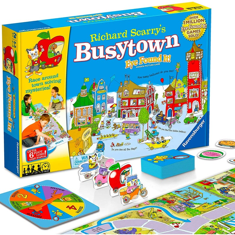 Richard Scarry's Busytown: Eye Found It