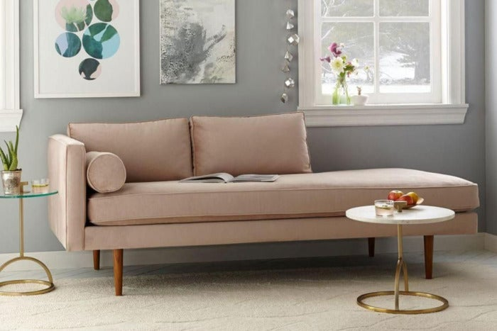West Elm lounger