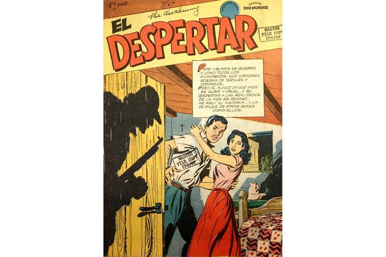 The cover of a comic called El Despertar.