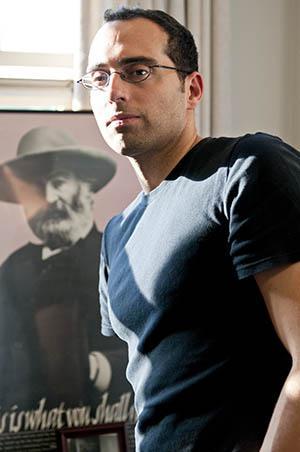 Author Philip Metres.
