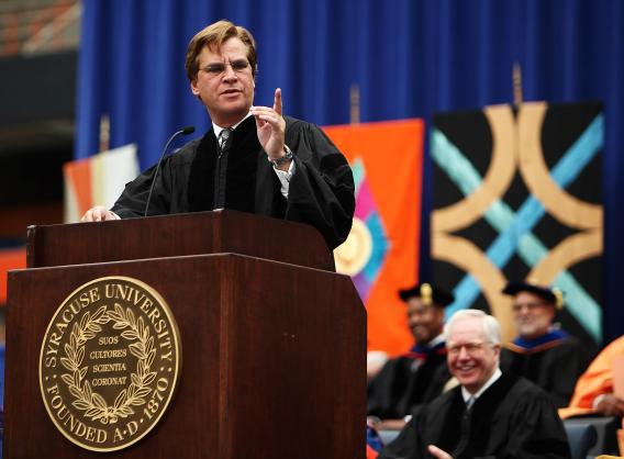 Syracuse Graduation 2020.Aaron Sorkin S Syracuse Recycled Commencement Speech Also