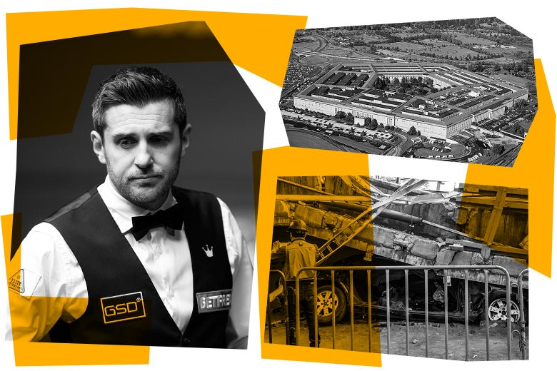 Mark Selby, the Pentagon, and a subway crash