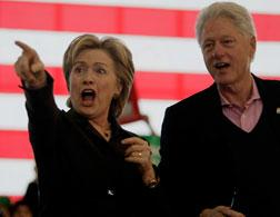 Hillary and Bill Clinton.Click image to expand.