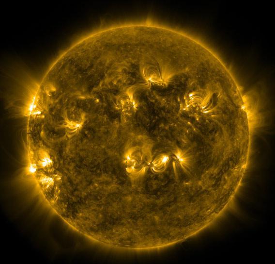 The Sun at perihelion