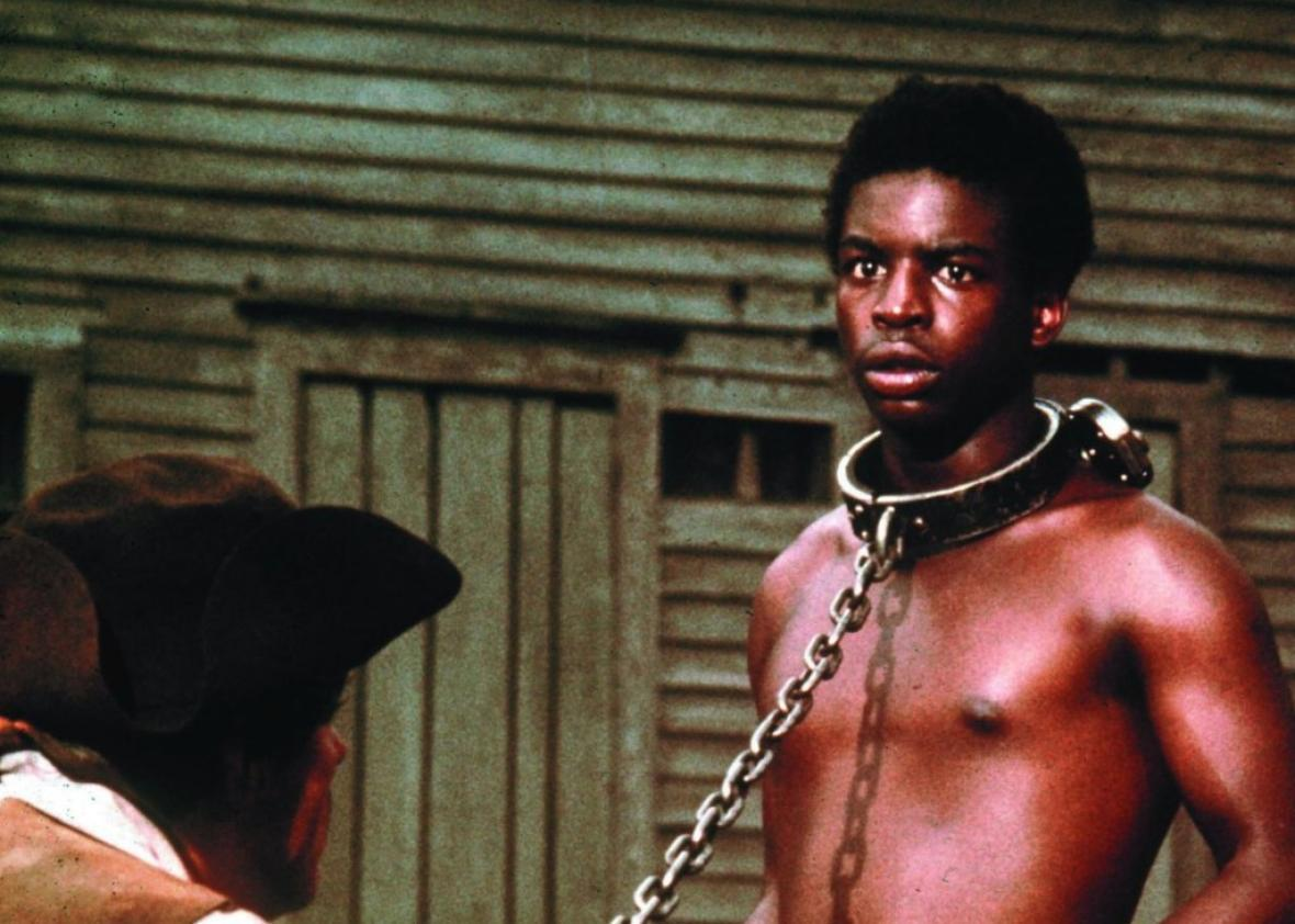LeVar Burton in Roots, the TV show that shook America.