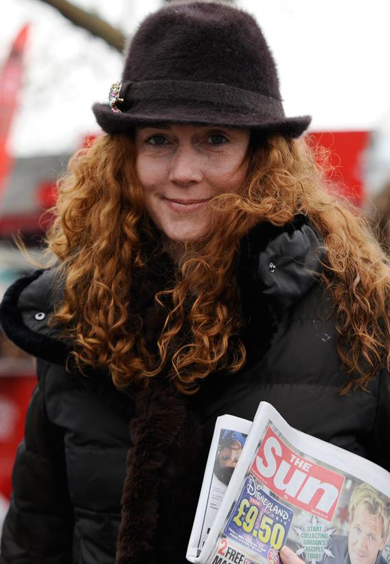 Rebekah Brooks, former Chief Executive of News International.