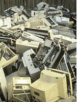 Discarded computers. Click image to expand.