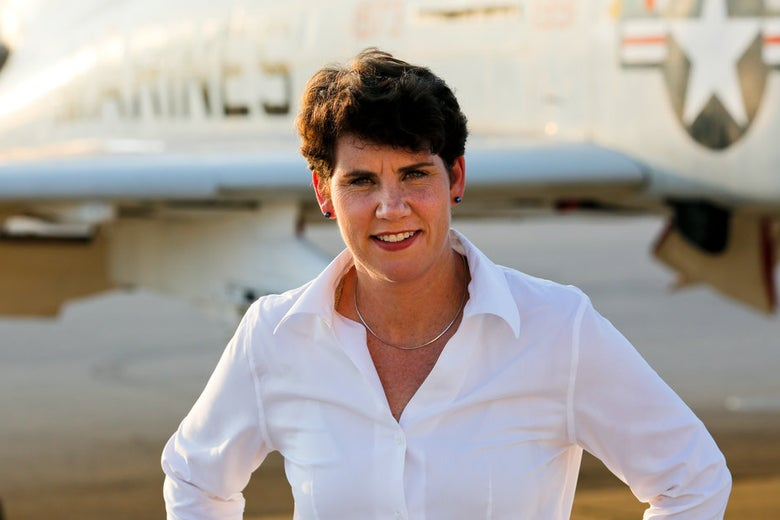 Former fighter pilot Amy McGrath won the Democratic nomination in Kentucky's 6th Congressional district on Tuesday.