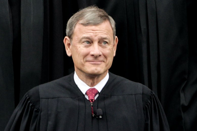 2017 file photo of Supreme Court Chief Justice John Roberts