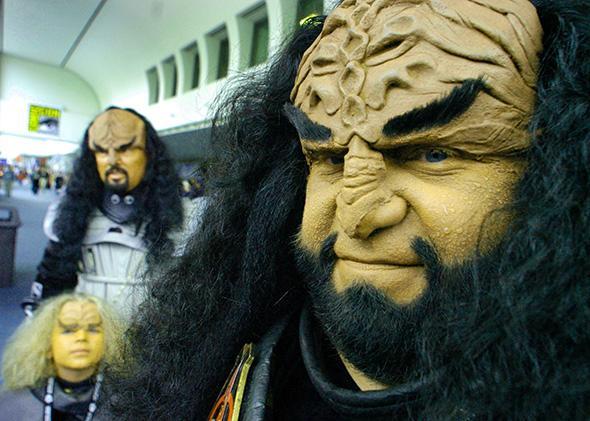 Klingon.