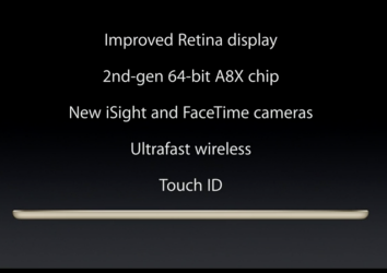 iPad Air 2 features