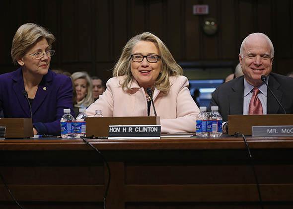 U.S. Secretary of State Hillary Clinton.