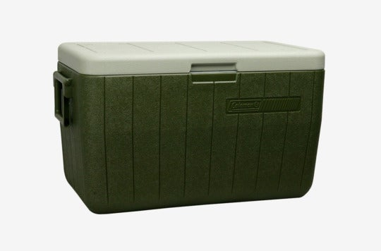 Coleman 48-Quart Performance Cooler.