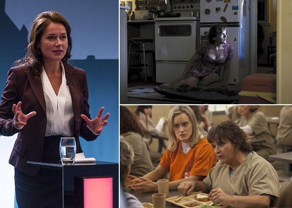 Borgen, Top of the Lake, Orange is the New Black
