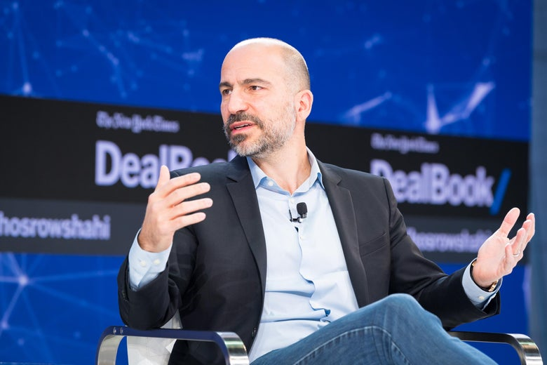Dara Khosrowshahi issued a statement on the settlement expressing regrets.
