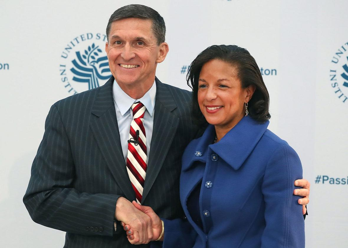 White House National Security Adviser Susan Rice