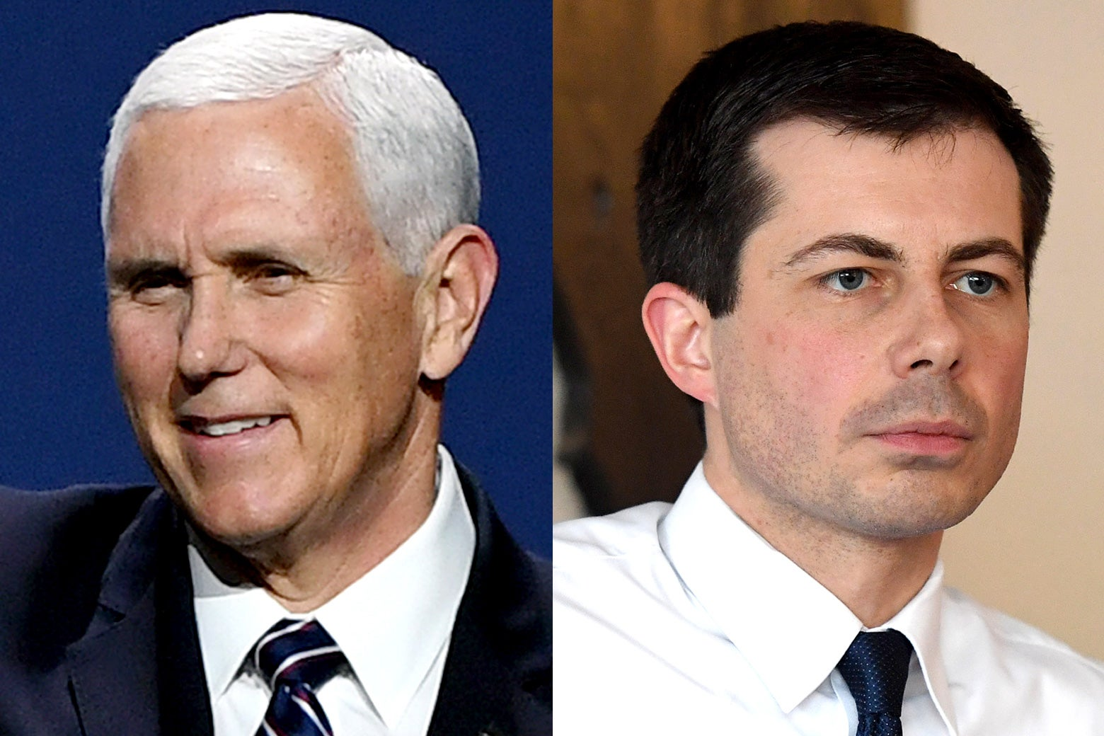 Mike Pence and Pete Buttigieg.