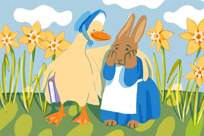 Advice column for Peter Rabbit, Sam I Am, and other