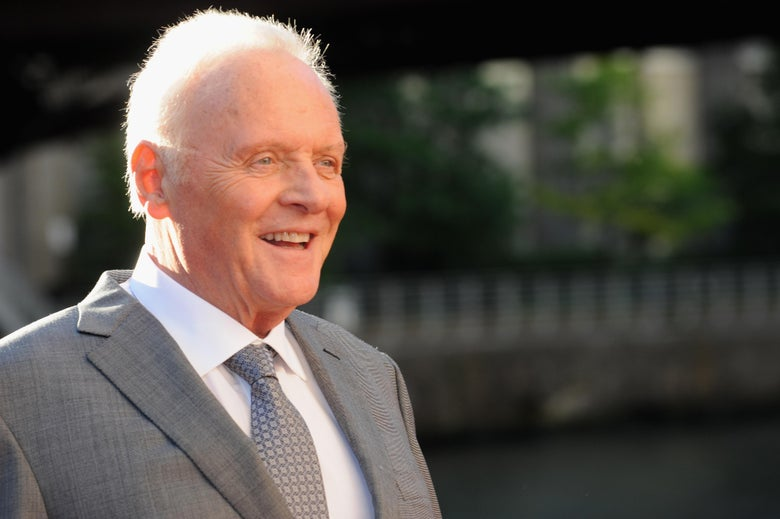 Here Is a Video of Anthony Hopkins Telling You to Have a Great Day