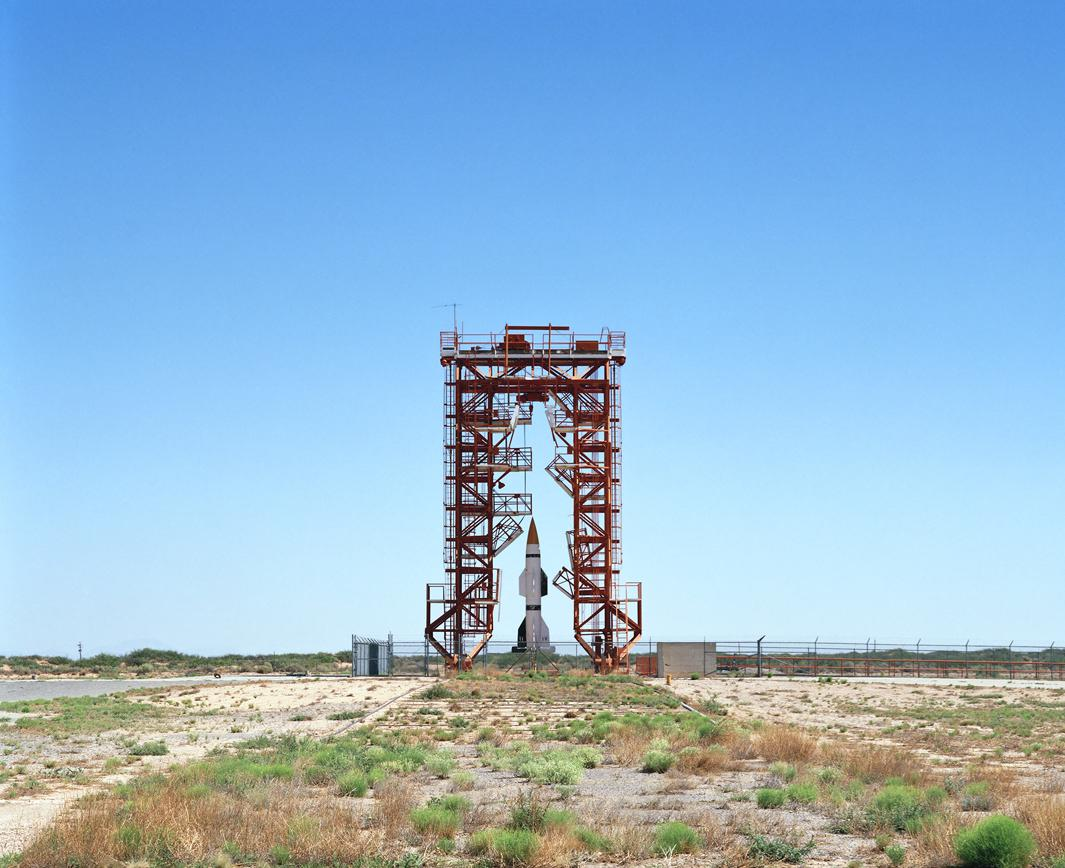 V2 Launch Site with Hermes A-1 Rocket,Launch Complex 33 Gantry,W