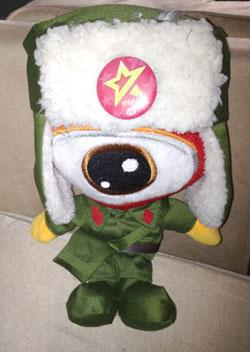 Sina Weibo mascot, People's Liberation Army version