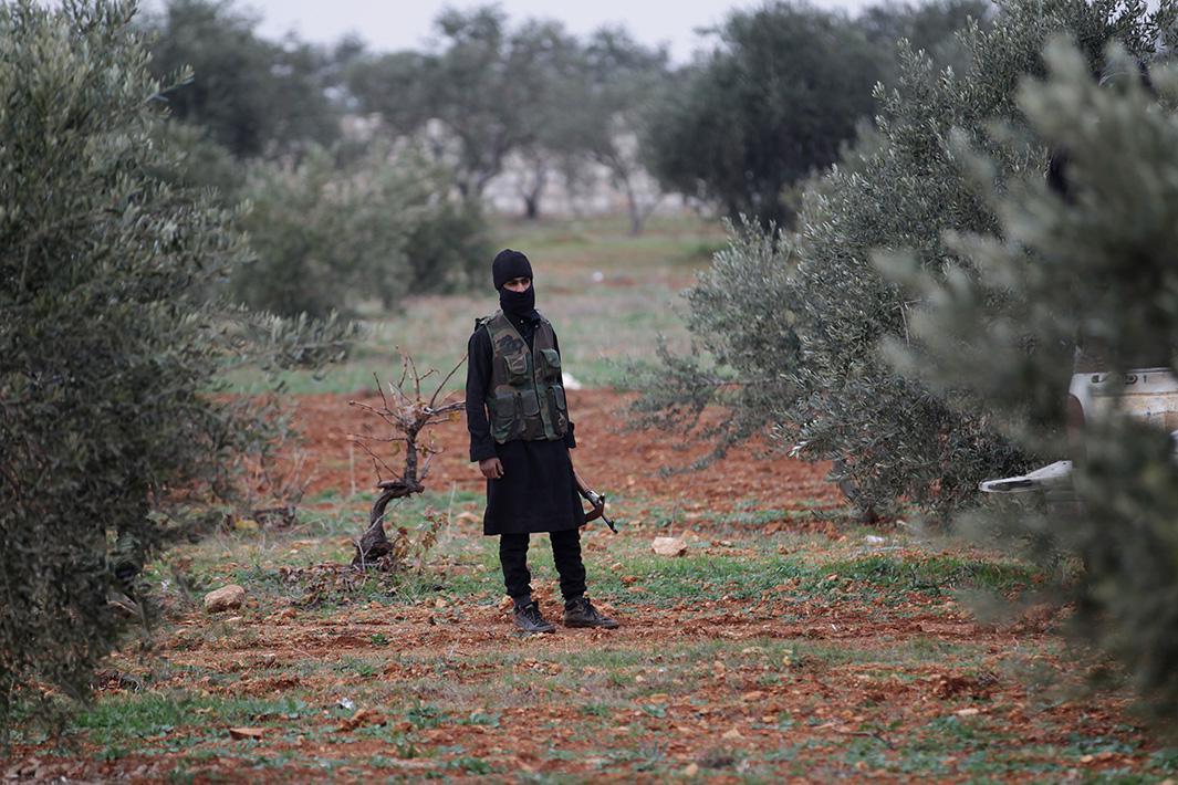 Dec. 2, 2014: Idlib, Syria