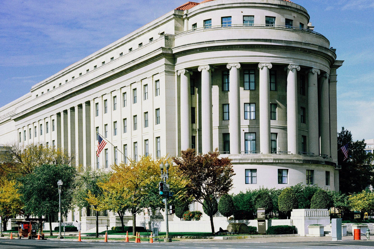 The FTC building in Washington.