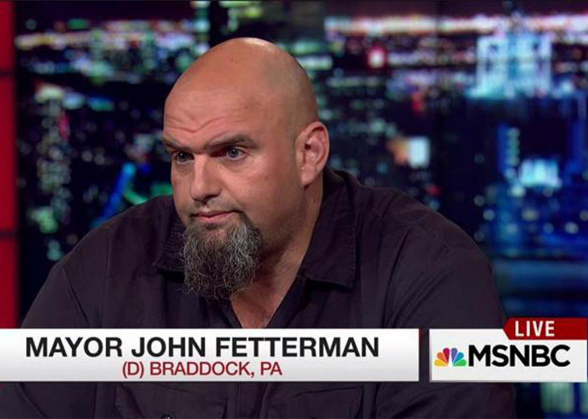 John Fetterman.