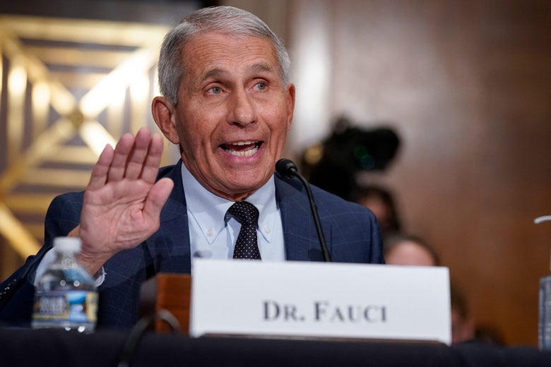 Dr. Anthony Fauci, director of the National Institute of Allergy and Infectious Diseases, responds to questions during a hearing on Capitol Hill in Washington, D.C. on July 20, 2021.