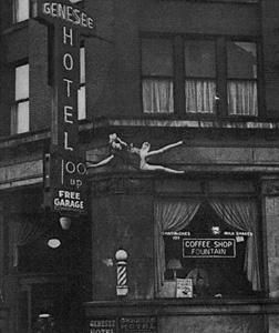 Genesee Hotel suicide. Click image to expand.