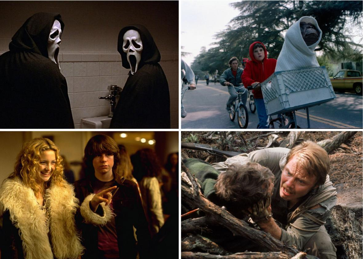 This is your last weekend to stream Scream 2, E.T., Almost Famous, and Deliverance.