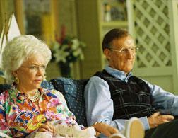 16. Barbara Bush (Ellen Burstyn) and George H. W. Bush (James Cromwell) in W. Click image to expand.