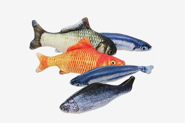MAXXV® Catnip Fish Plush Toys for Cat.
