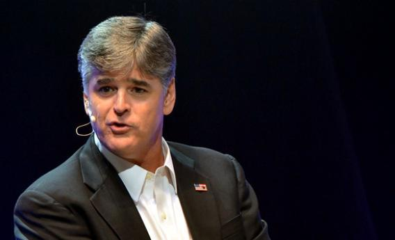 Sean Hannity attends The Boortz Happy Ending.