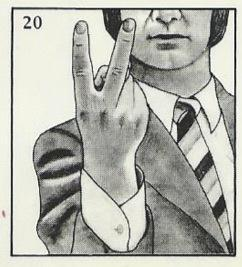 The Up Yours Gesture Looks Like A Peace Sign