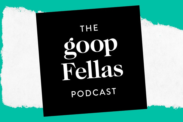 The Goopfellas podcast logo.