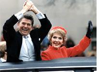 Ronald and Nancy Reagan. Click image to expand.