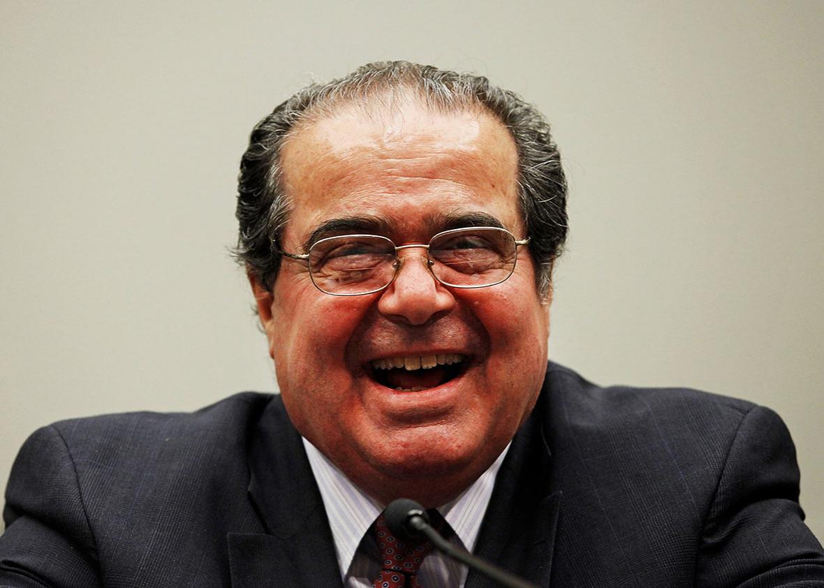 Scalia questions.
