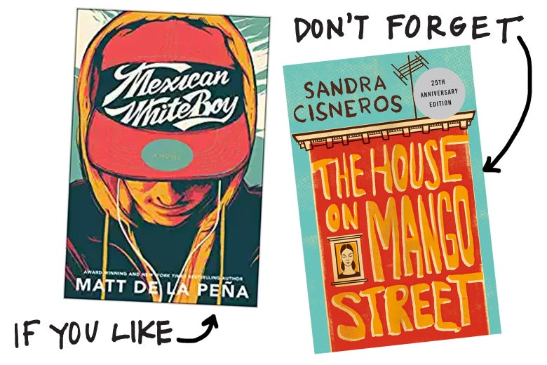 If you like Mexican WhiteBoy, don't forget The House on Mango Street by Sandra Cisneros