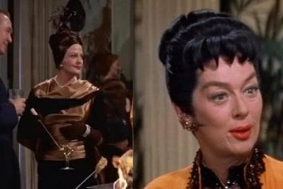 Vera Charles and Mame Dennis in Auntie Mame.