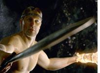 Ray Winstone as Beowulf.