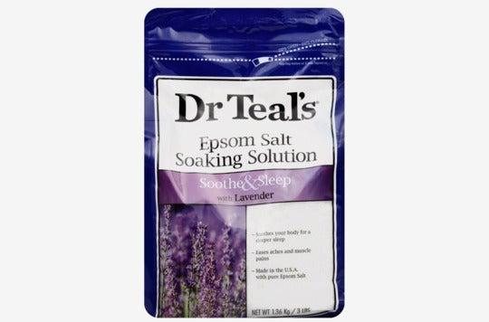 Dr. Teal's epsom salt.